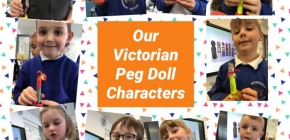 Year 1  – Creating Our Own Peg Doll Characters