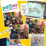 Reception's visit from the PDSA