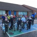 Year 3 are learning about bike maintenance with bikeability.