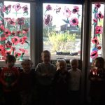 Nursery paint a Poppy for Remembrance Day