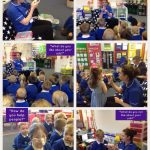 Nurse Caroline visited Reception