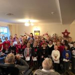 Choir out in the community