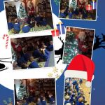 Reception enjoyed having breakfast with a special visitor – Santa!