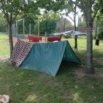 Reception building dens.