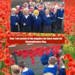 Year 1 Poppies for Remembrance Day