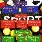 Spring 2 Enrichment Clubs