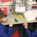 Year 5 – Learning to stitch