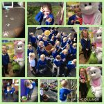 The Easter bunny visits Nursery!