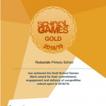 School Games Gold Mark Achieved