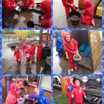Reception – Fun in the rain