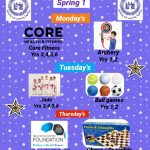 Spring 1 After School Enrichment Clubs