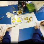 Year 2 enjoyed using treasure to help them to solve Division problems in Maths