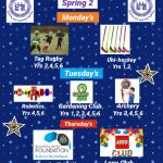 Spring 2 After School Enrichment Clubs
