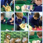 Year 2 Great Fire Of London Cakes