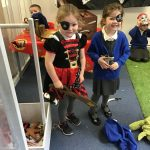Reception -Ahoy Matey!  Our new topic 'Pirates'